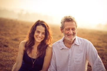 Rachel and John teach in europe